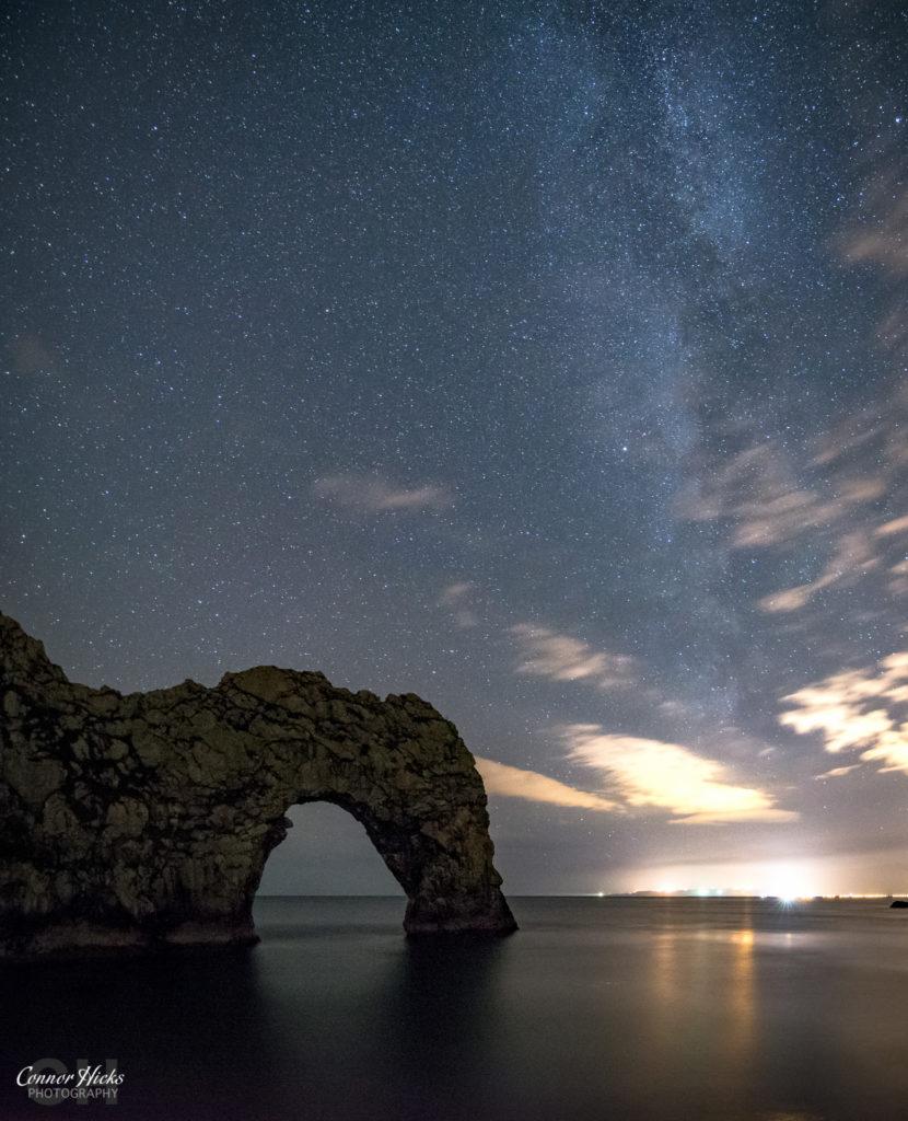 Durdle Door Milky Way Dorset 830x1024 Astrophotography