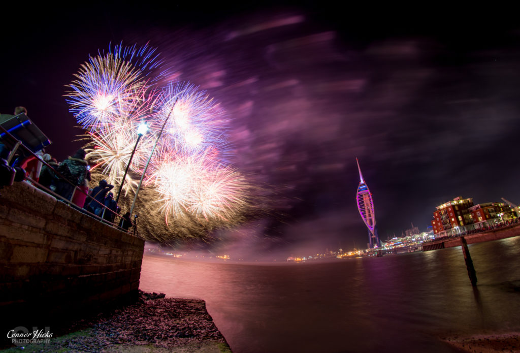 Fireworks Display Gunwhard 2015 1024x695 Gunwharf fireworks display
