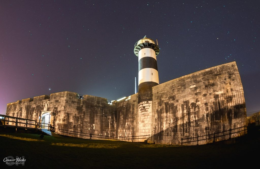 Southsea Castle At Night 1024x667 Astrophotography