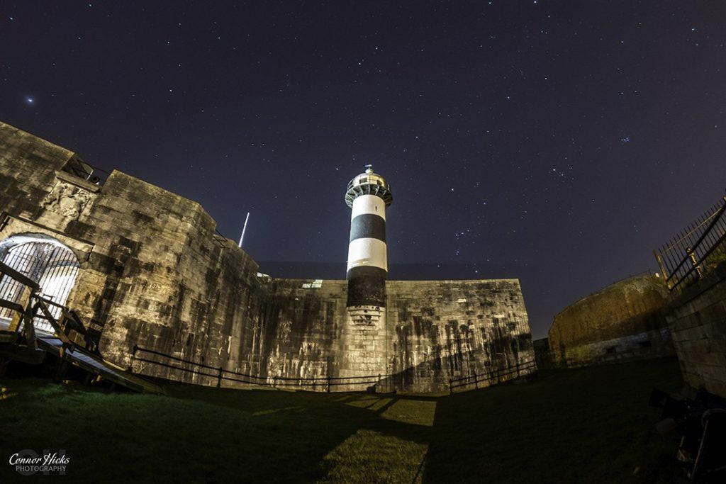 Southsea Castle Stars  1024x683 Astrophotography
