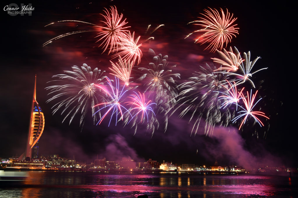 DSC 0050 311014 1024x681 Gunwharf fireworks display
