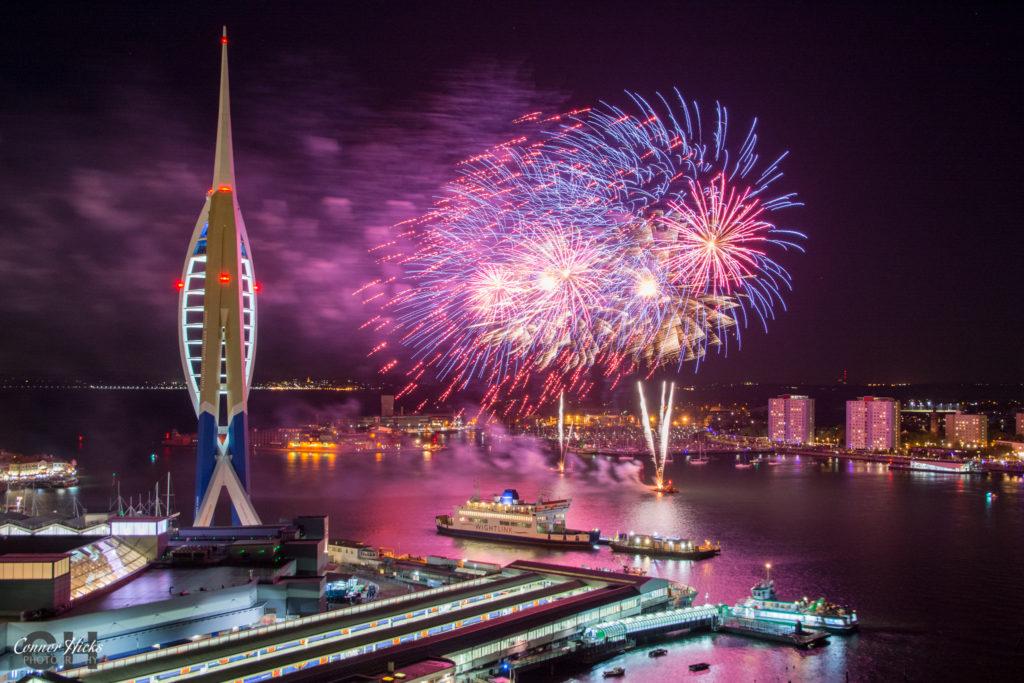 Gunwharf fireworks display 2016 1024x683 Gunwharf fireworks display