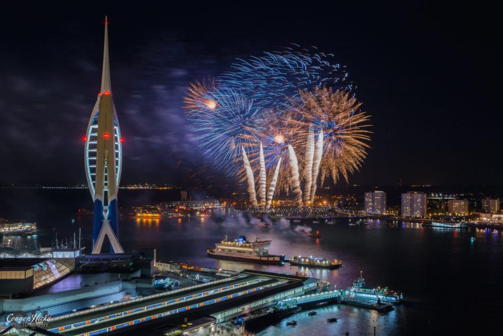 portsmouth gunwharf fireworks display 2016 1024x683 Gunwharf fireworks display