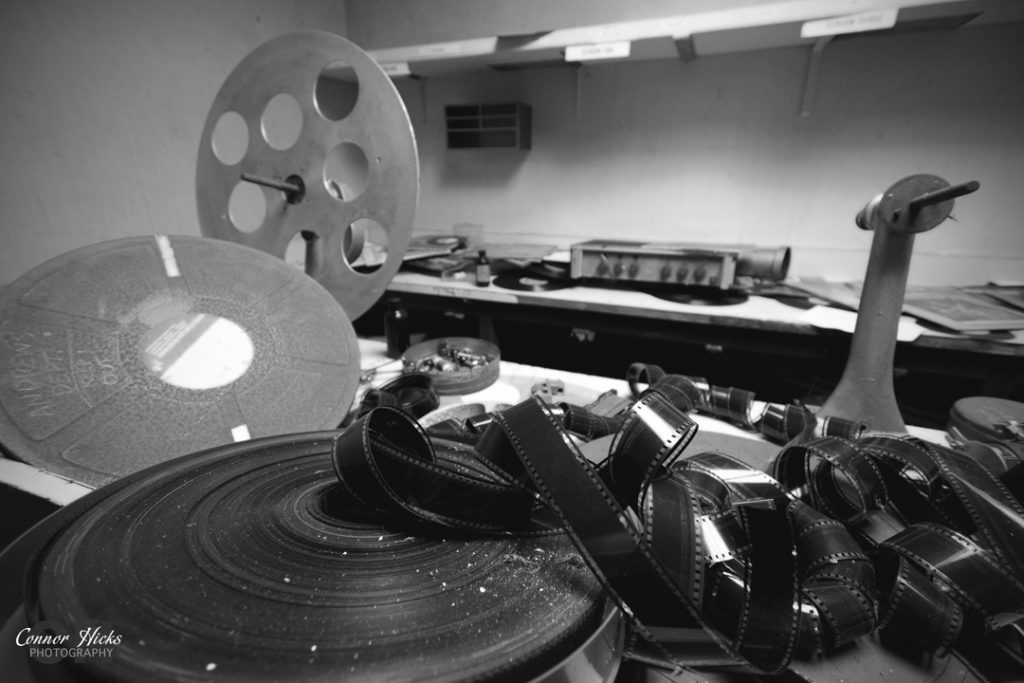 Portsmouth Hampshire Urbex Photography Odeon Cinema Northend Film BNW 1024x683 Odeon Cinema, Portsmouth