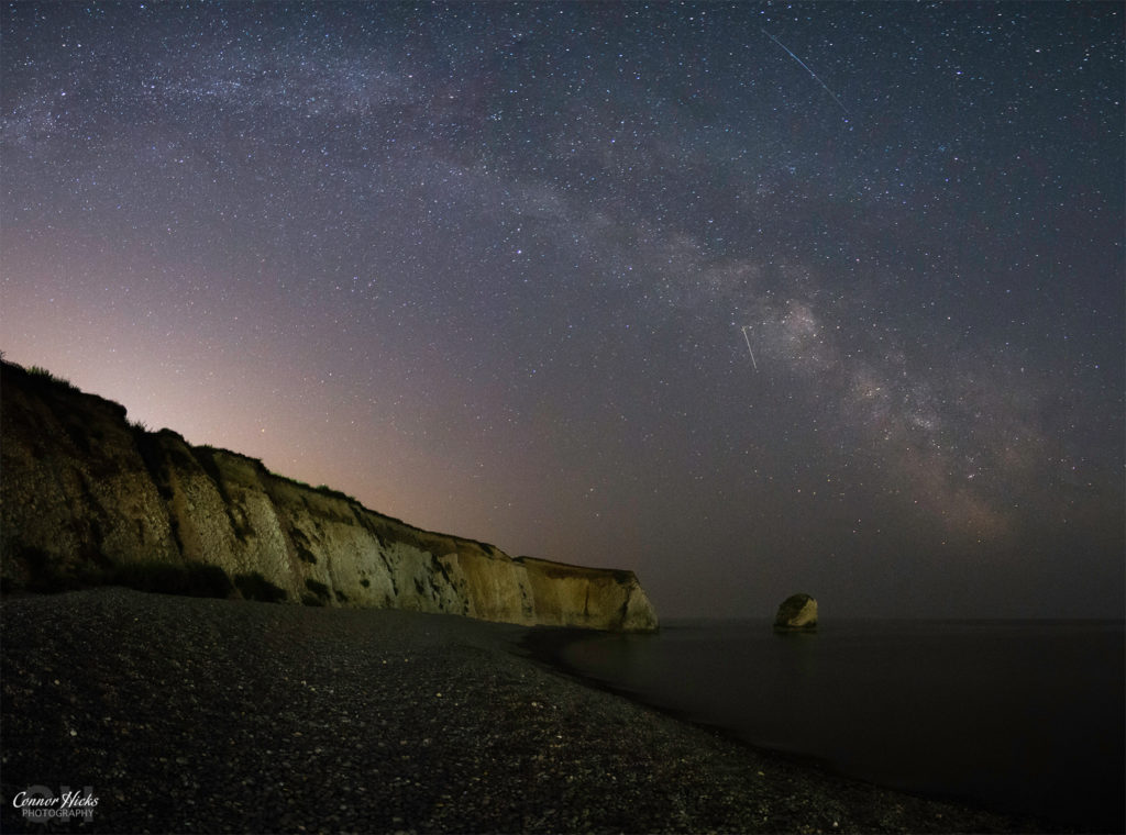 Freshwater Bay Isle Of Wight Milky Way astrophotography 1024x760 Astrophotography