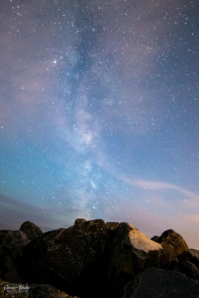 Hayling Island Milky Way 683x1024 Astrophotography