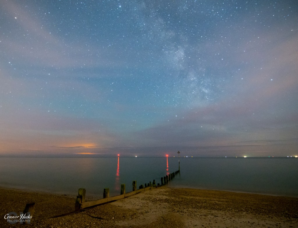 Hayling Island Milky Way Astrophotography Hampshire 1024x784 Astrophotography