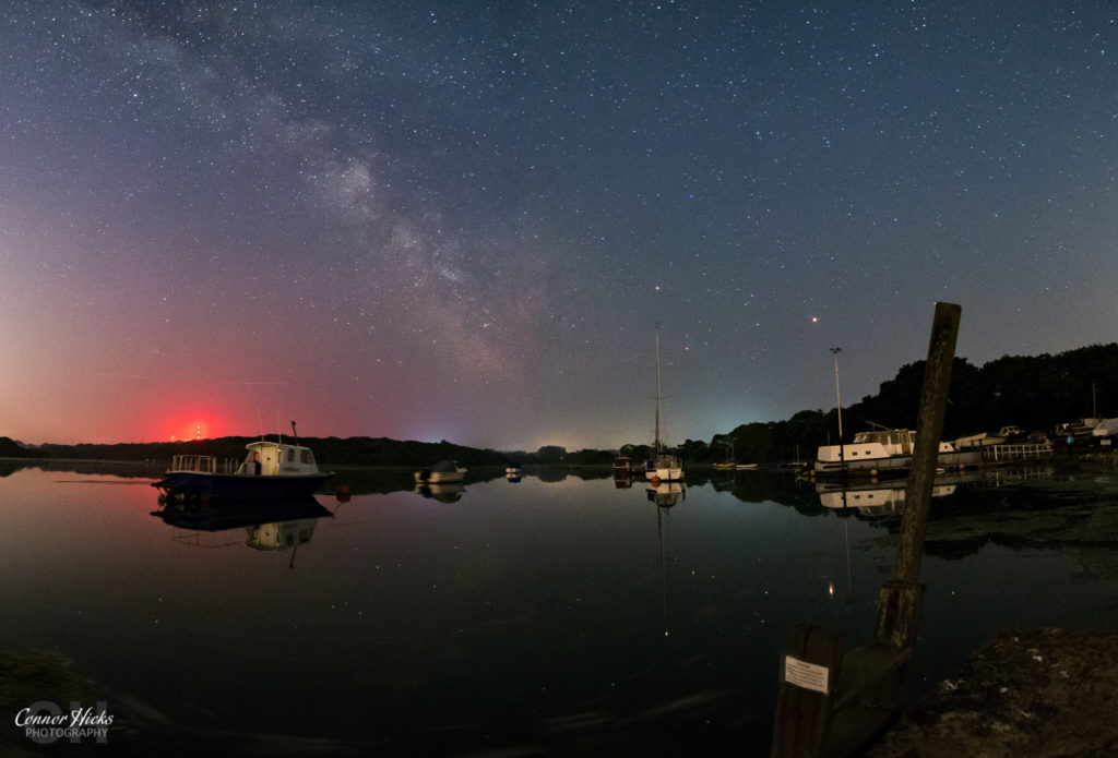 Isle Of Wight Freshwater Bay Milky Way 1024x695 Astrophotography