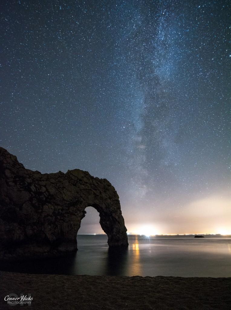 Milky Way Durdle Door Dorset 764x1024 Astrophotography