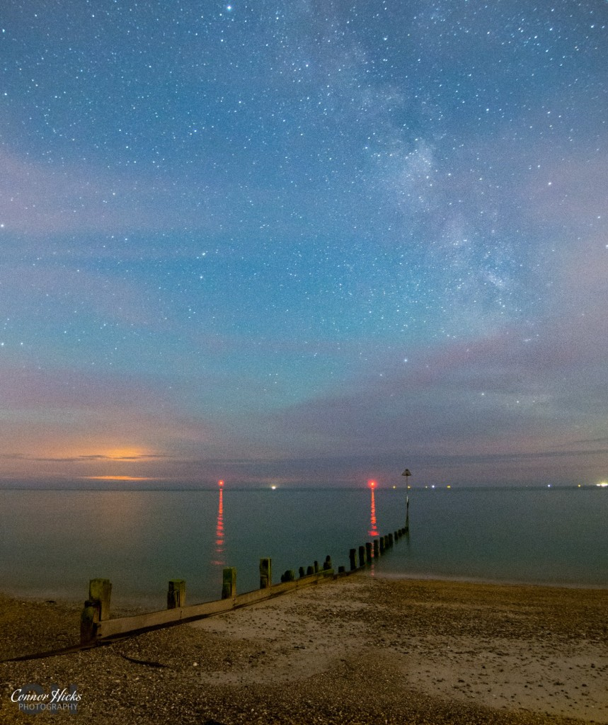 Milky Way Hayling Island Astrophotography Hampshire 859x1024 Astrophotography