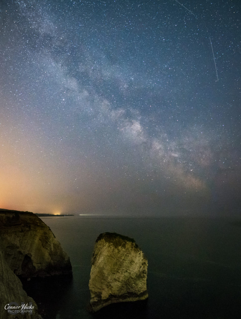 Milky Way Isle Of Wight Freshwater Bay 772x1024 Astrophotography