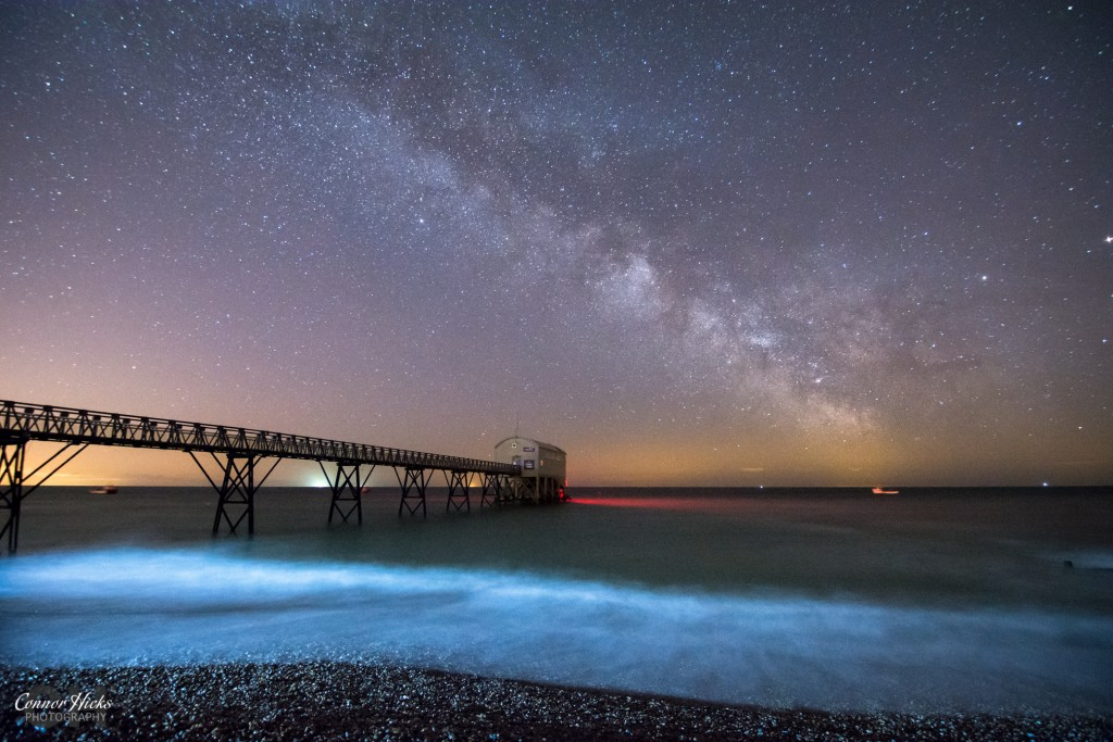 Milky Way Selsey Lifeboat Station 1024x683 Astrophotography