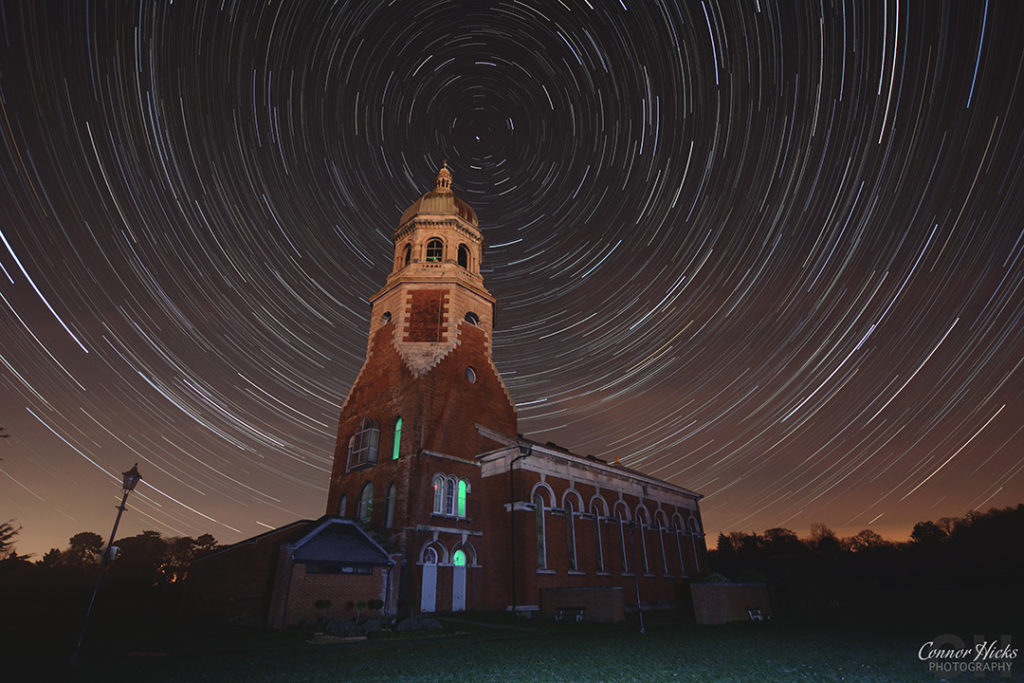 Netley Hospital Southampton Star Trails Portsmouth Hampshire Astrophotography 1 1024x683 Astrophotography