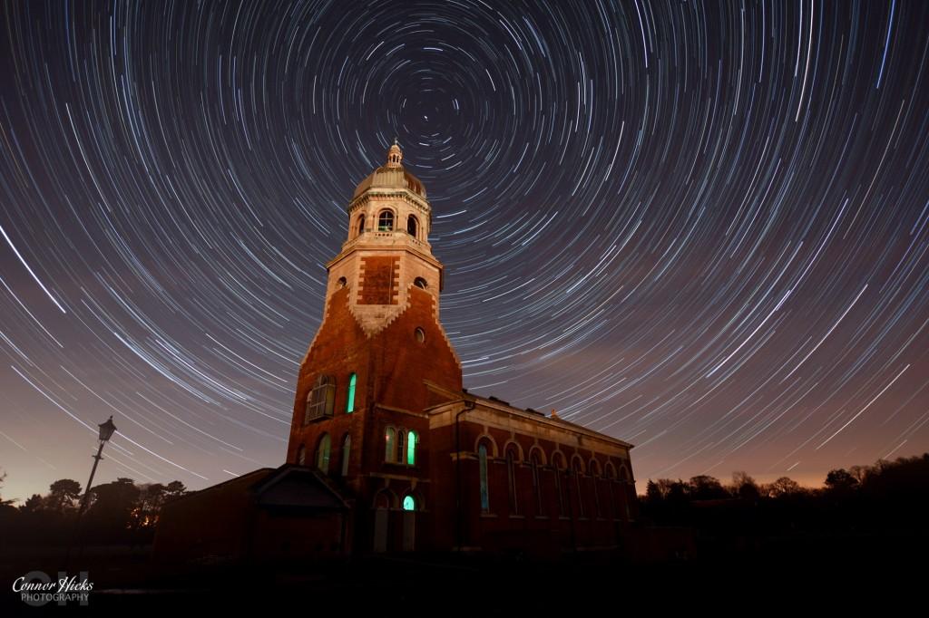 Netley Hospital Star Trails Hampshire Astrophotography 1024x682 Astrophotography