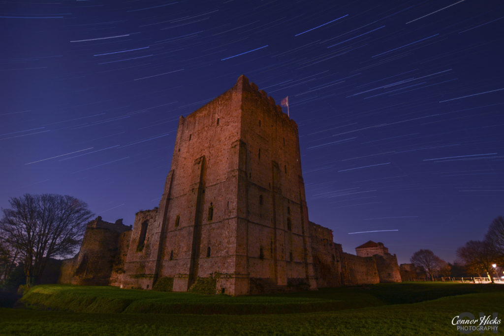 Portchester Castle Star Trails Portsmouth Hampshire Astrophotography 1024x684 Astrophotography