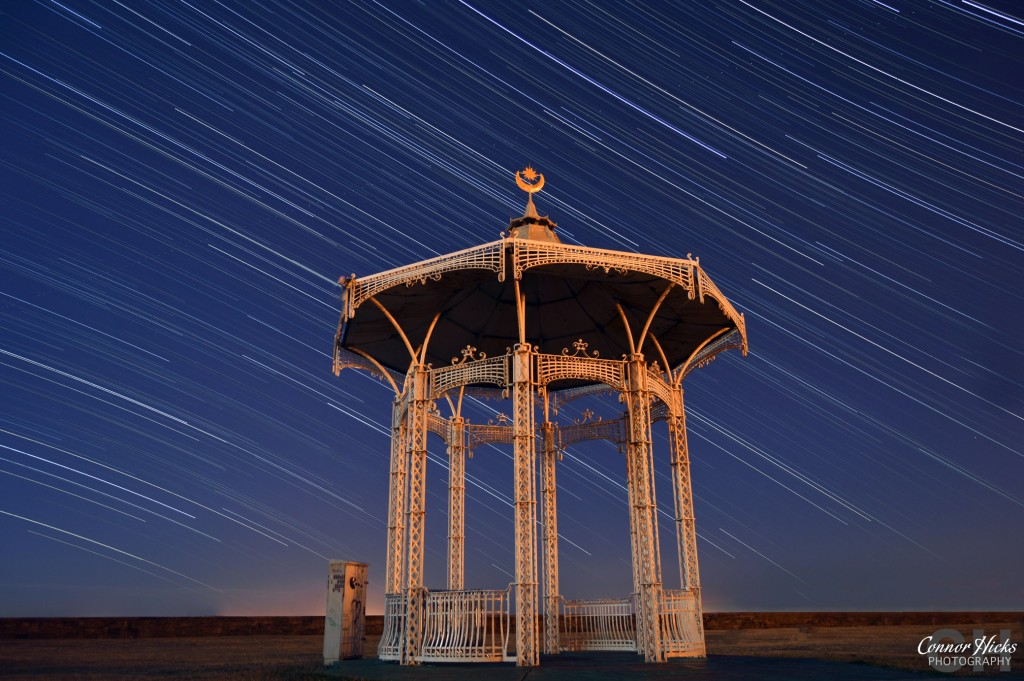 Southsea Bandstand Star Trails 1024x681 Astrophotography