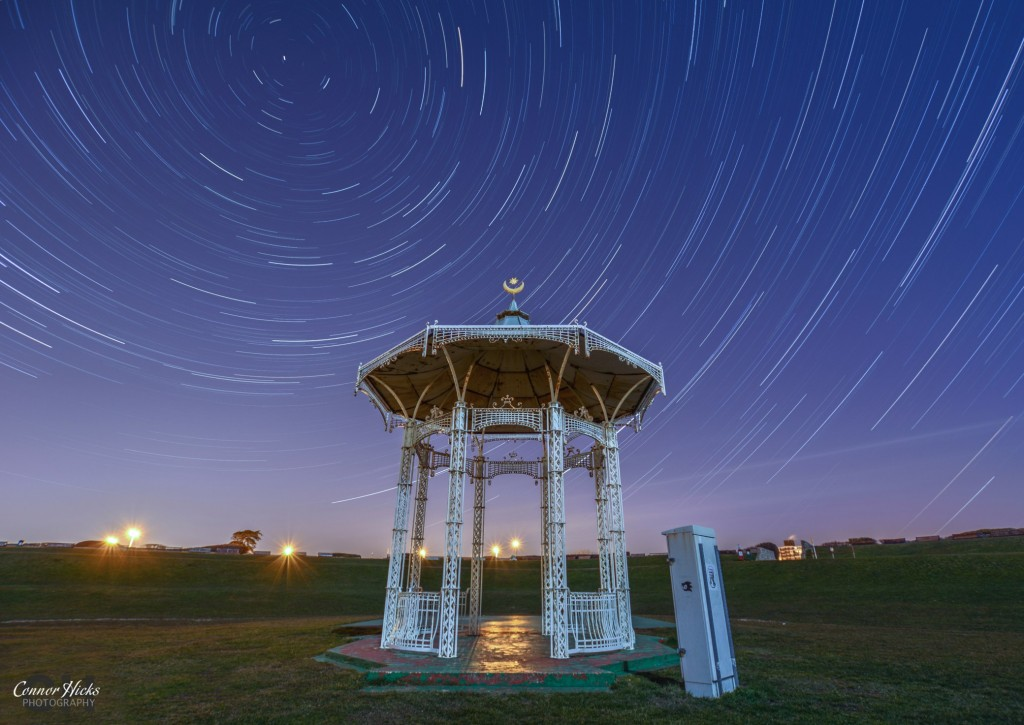 Southsea Bandstand Startrails Portsmouth Astrophotography 1024x725 Astrophotography
