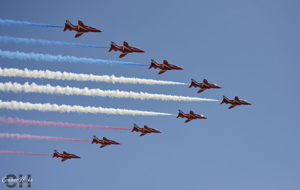 D Day 70 Portsmouth Southsea Hampshire Photography Photographer Red Arrows 10 1024x650 D Day 70 Commemorations, Southsea