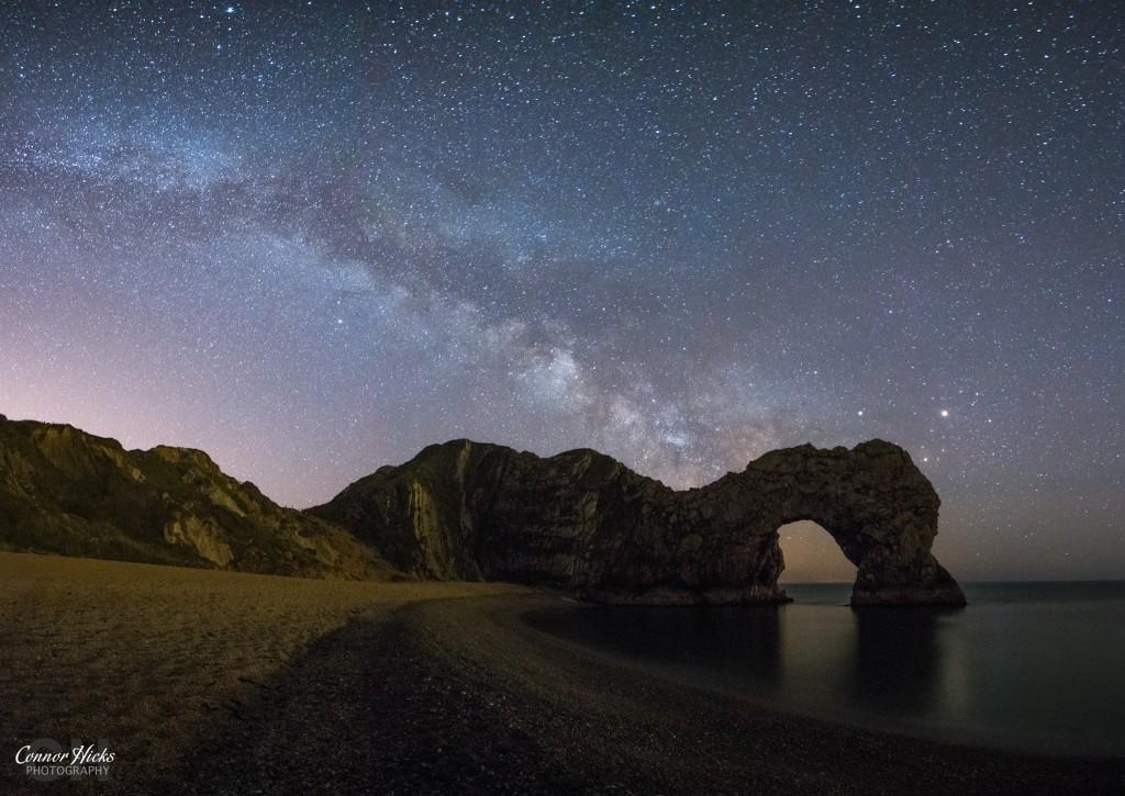 Durdle Door Milky Way Photograph 1024x725 Astrophotography