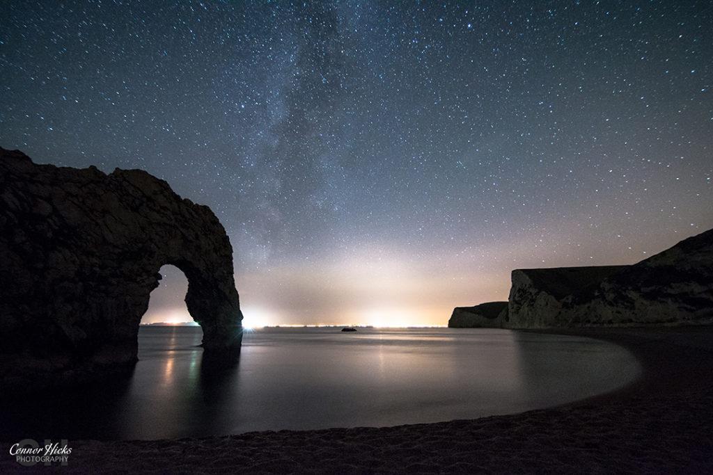 Durdle Door with Milky Way Dorset Astrophotography  1024x683 Astrophotography