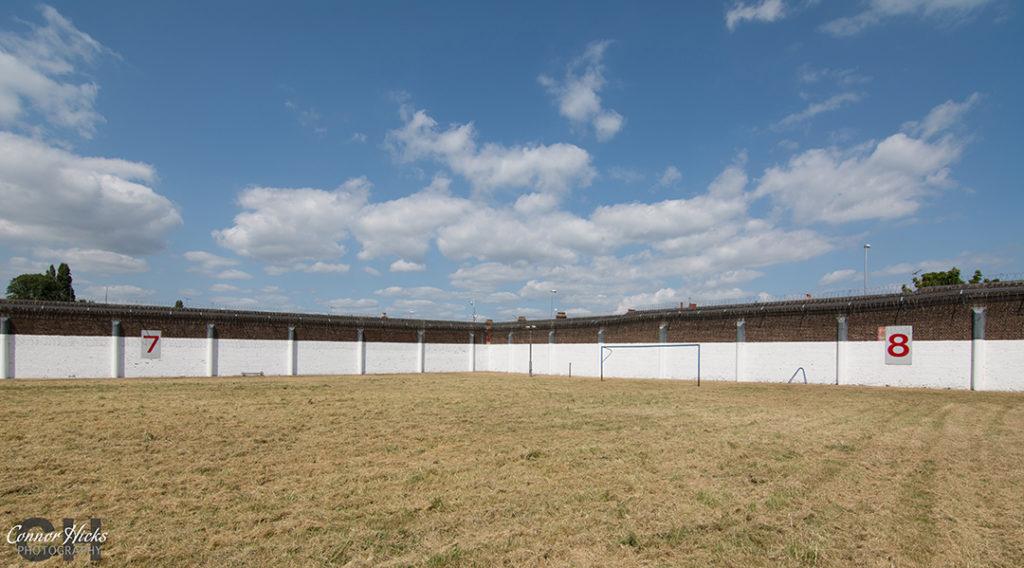 HMP Kingston Prison Football Pitch Yard Portsmouth Hampshire Urbex 1024x568 H.M.P Kingston Portsmouth (Permission Visit)