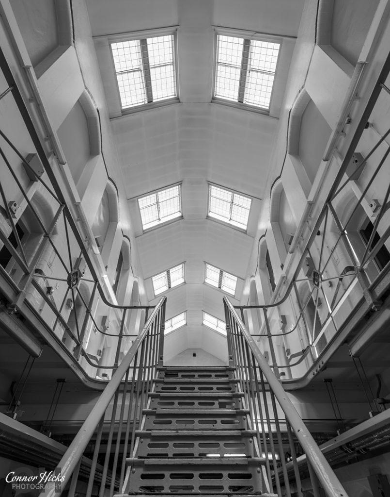 HMP Kingston Prison Hampshire Urbex Stair Case 1 805x1024 H.M.P Kingston Portsmouth (Permission Visit)