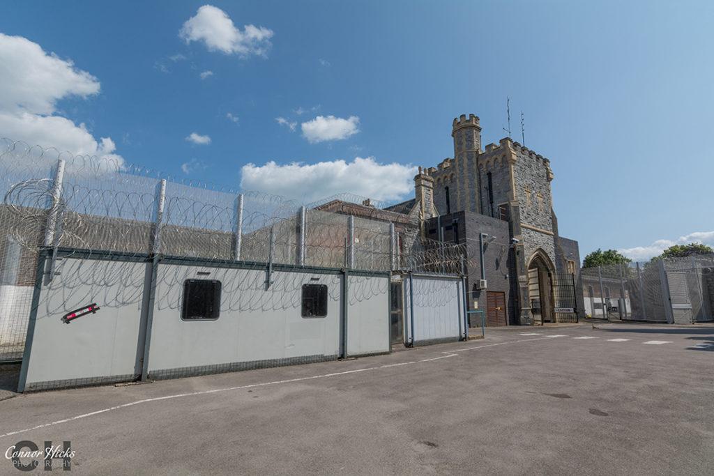 HMP Kingston Prison Main Entrance Portsmouth Hampshire Urbex 1024x683 H.M.P Kingston Portsmouth (Permission Visit)