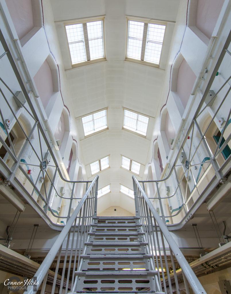 HMP Kingston Prison Stairs Portsmouth Hampshire Urbex  805x1024 H.M.P Kingston Portsmouth (Permission Visit)