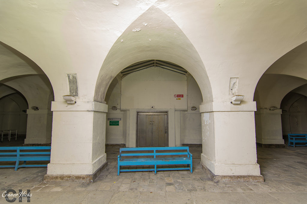 Urbex The Royal Hospital Haslar Gosport Hampshire July 2015 Revisit Lift Main Entrance 1024x683 The Royal Hospital Haslar, Gosport