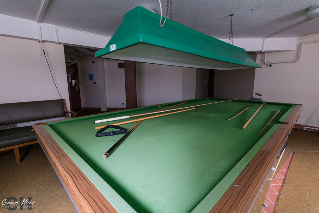 Urbex The Royal Hospital Haslar Gosport Hampshire July 2015 Revisit Snooker Room  1024x683 The Royal Hospital Haslar, Gosport