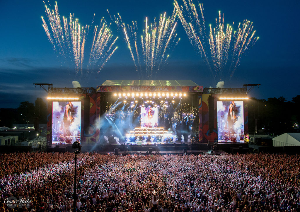 V Festival 2015 The Script Fireworks 1024x724 V Festival, Chelmsford 2015