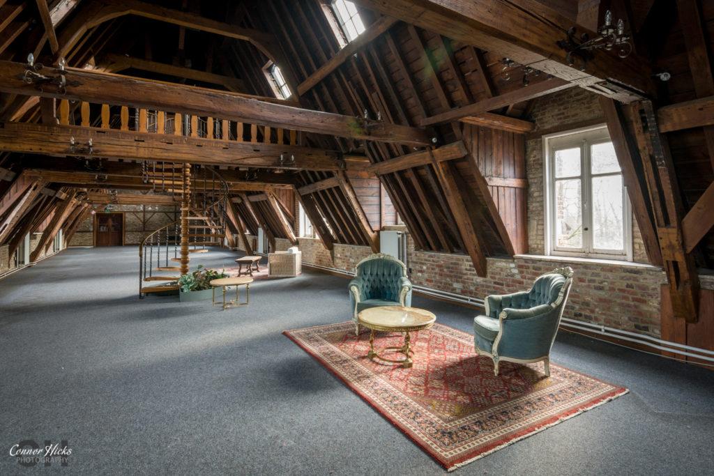Belgium Chateau Des Muscles Urbex 1024x683 Chateau Des Muscles, Belgium