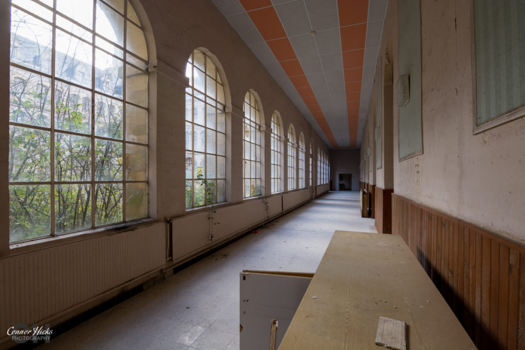 Corridor Hospital Plaza Urbex 1024x683 Hospital Plaza, France