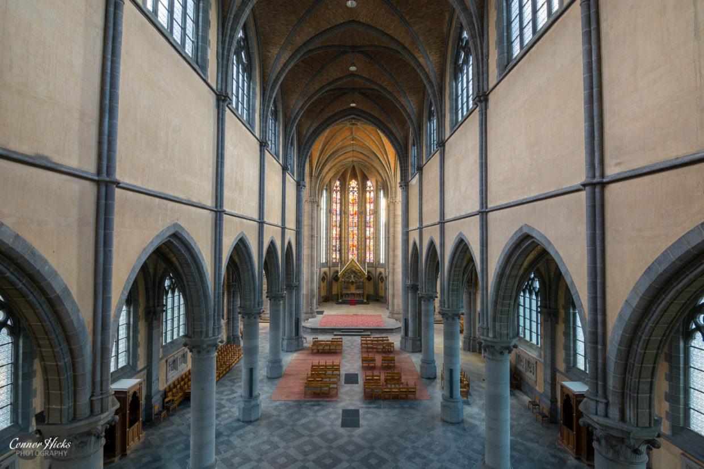 Cliffhanger church urbex belgium