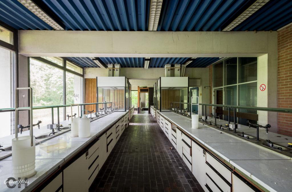 urbex science labs  1024x674 University Science Labs, Belgium