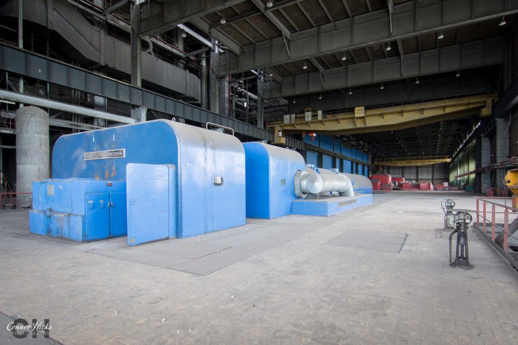 turbine hall schneider france urbex 1024x683 Centrale De Schneider, France