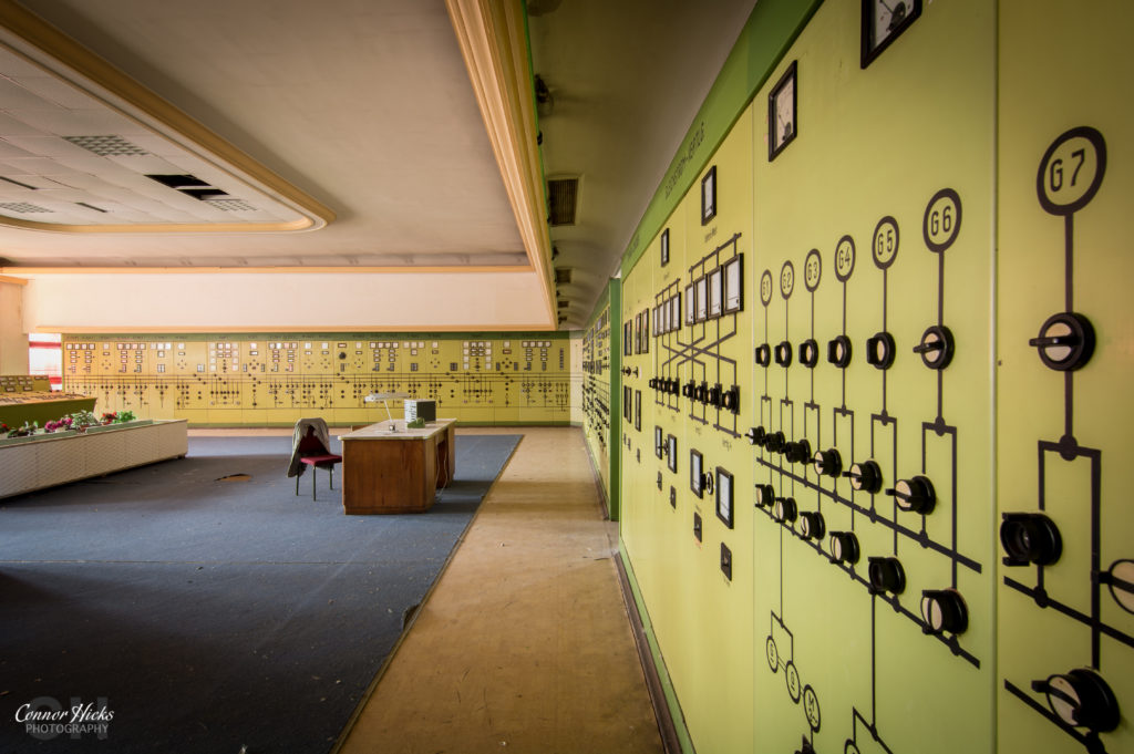kraftwerk v control room urbex germany 1024x681 Kraftwerk V, Germany