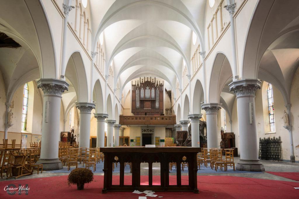 belgium urbex church anti christ 1024x683 Anti Christ Church, Belgium