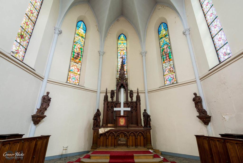 church belgium urbex 1024x688 Anti Christ Church, Belgium