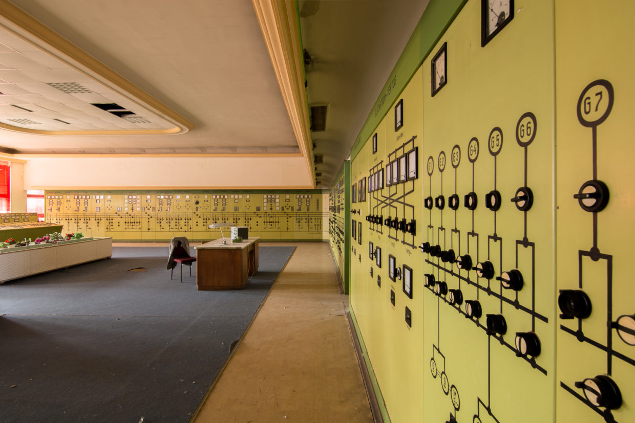kraftwerk v control room germany urbex