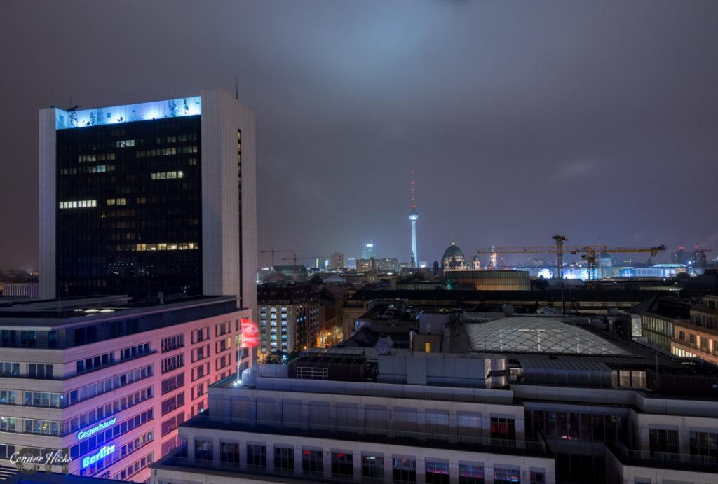 Berlin City At Night