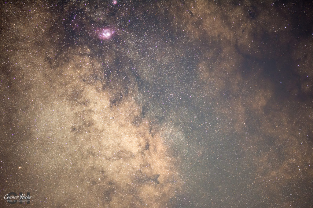 Galactic Core Brittany France Lagoon Eagle Nebula 1024x683 Astrophotography