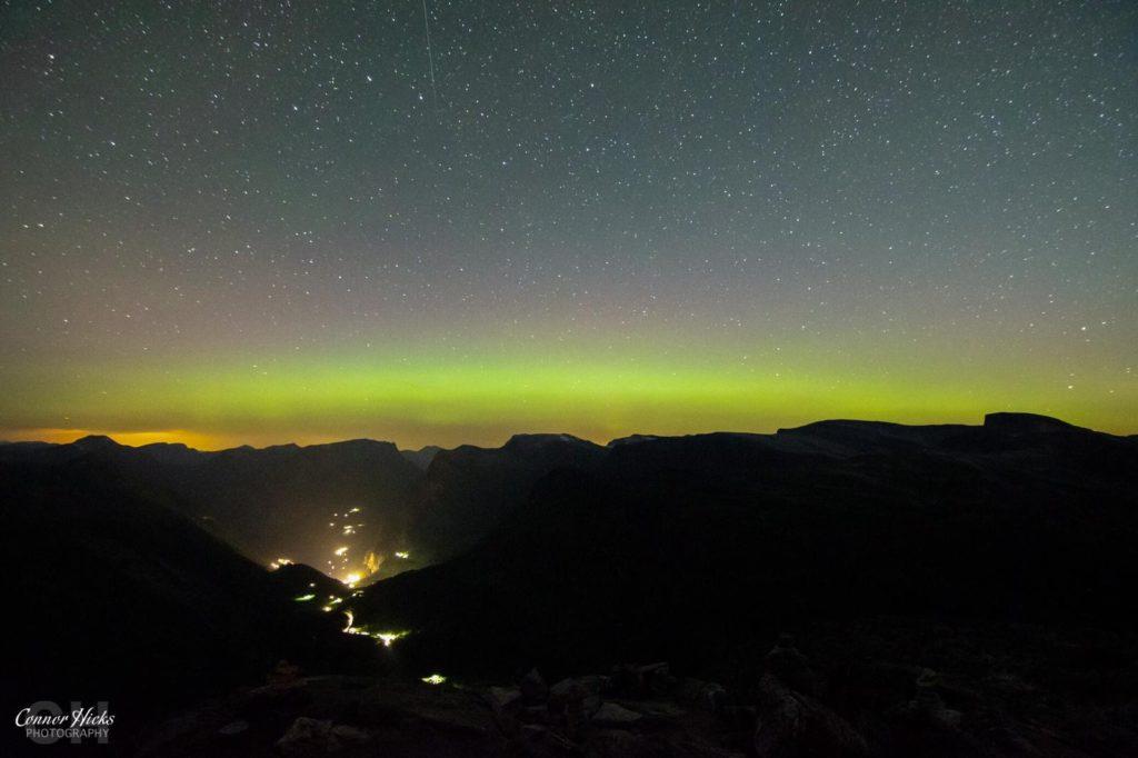 Geiranger Norway aurora borealis 1024x682 Astrophotography