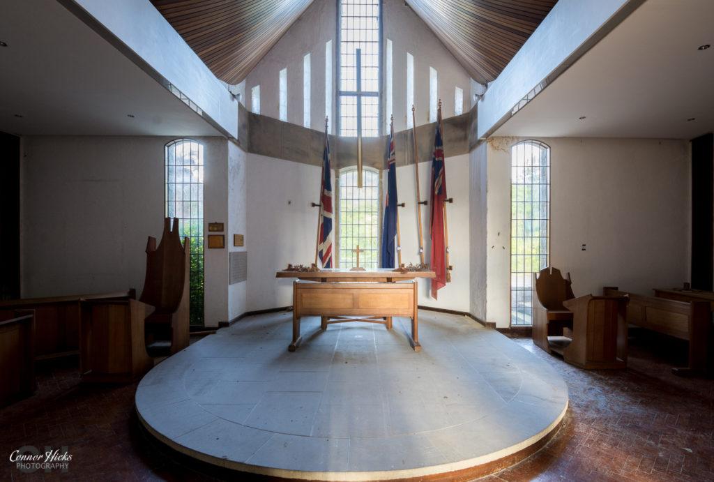 Malsis school urbex yorkshire chapel