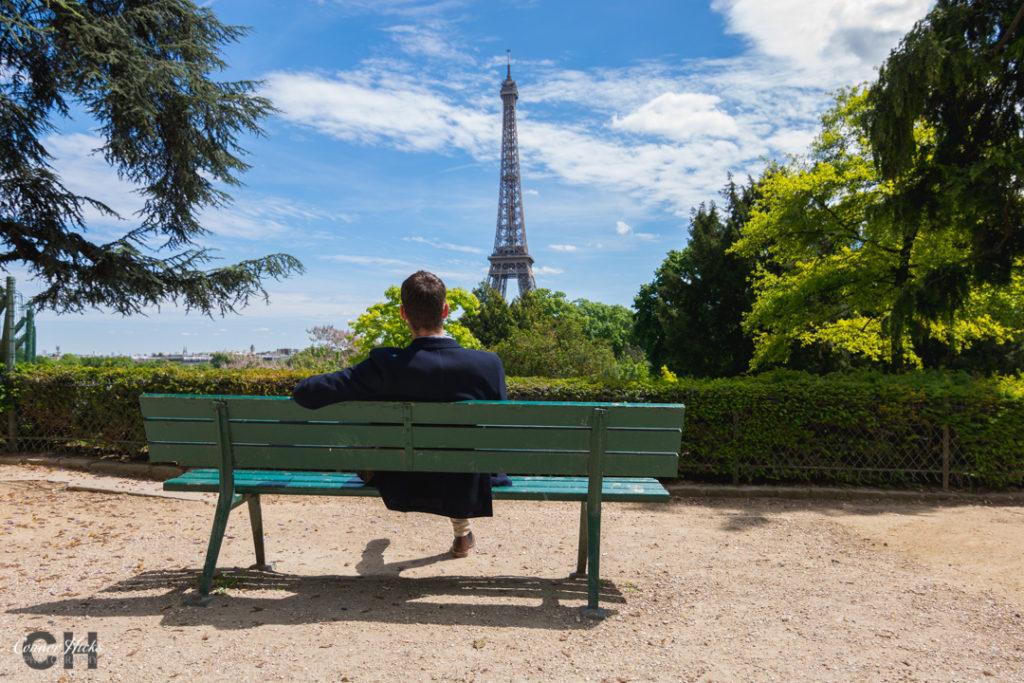 Paris Street Photography Eiffel Tower