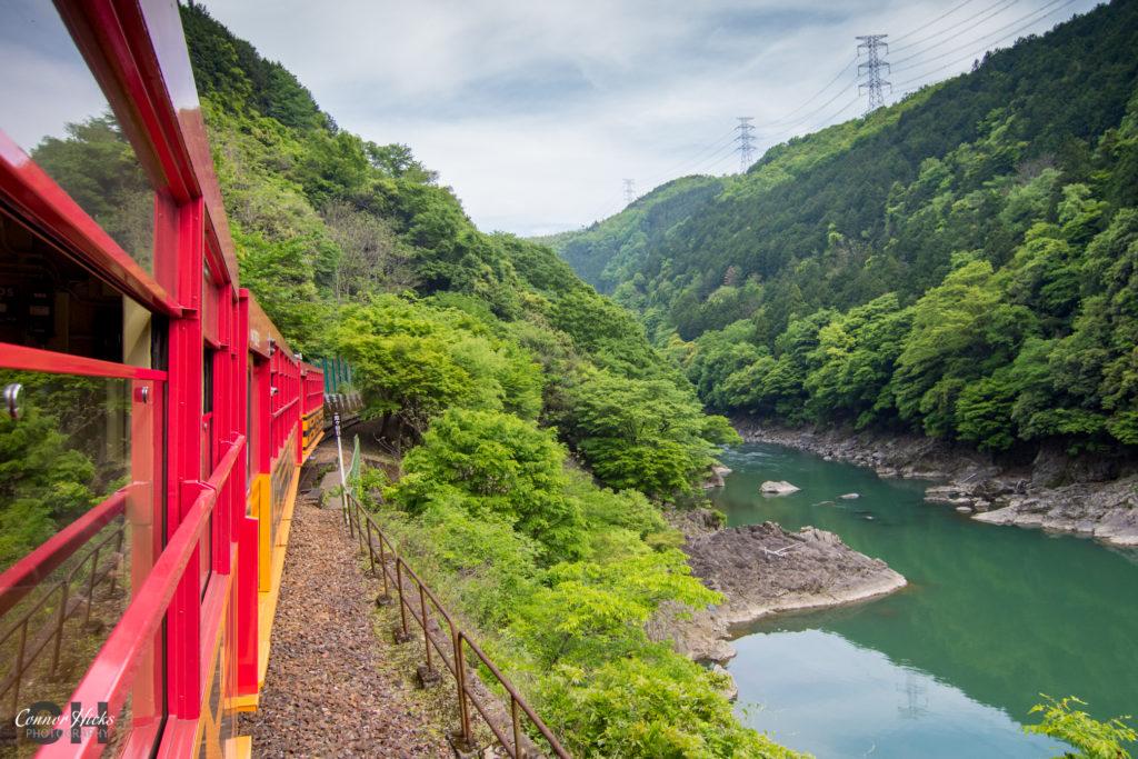 Sagano Scenic Railway Kyoto 1024x683 Japan 2019
