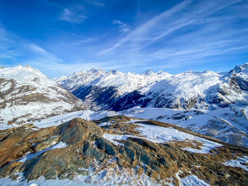 Zermatt View Switzerland 1024x768 Travel