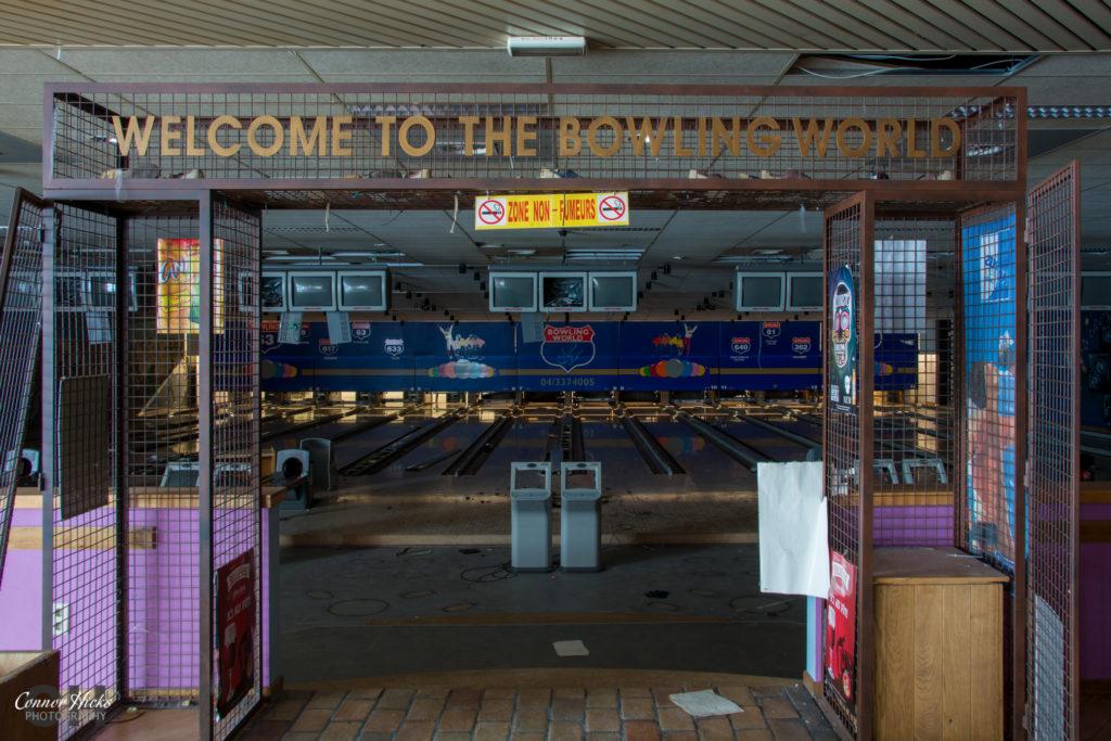 belgium urbex bowling