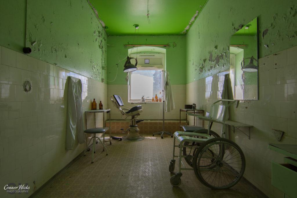 doctors room norway urbex