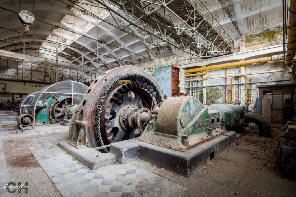 hydro power plant urbex italy  1024x683 Power Plant V, Italy